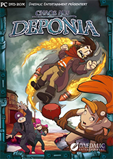 Cover Chaos auf Deponia
