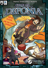 Cover Chaos on Deponia